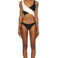 Lisa Marie Fernandez Black And White Marie Louise Bikini