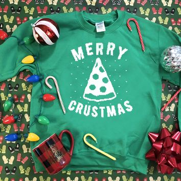 Merry Crustmas - Ugly Christmas Sweater