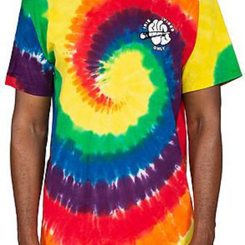 The Irie vibes only tye Dye tee