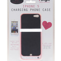 Solid iPhone 5 Charging Case | Wet Seal