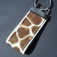 Mini Key Fob - Giraffe