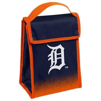 MLB Detroit Tigers Insulated  Lunch Bag Cooler