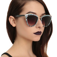 Sugar Skull Cateye Sunglasses