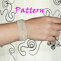 Crochet, bracelet, pdf, download, easy, fast, handmade