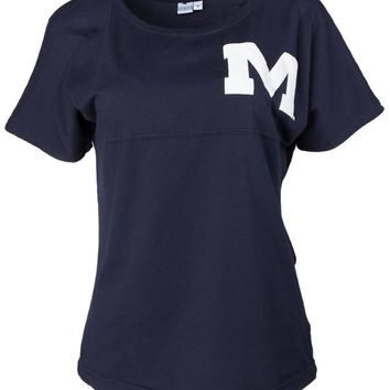 Official NCAA University of Mississippi Rebels Ole Miss Hotty Toddy Women's Short Sleeve Spirit Wear Jersey T-Shirt