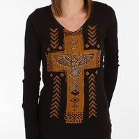 Women's Southwestern Print Thermal