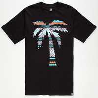 Blvd Native Tree Mens T-Shirt Black  In Sizes