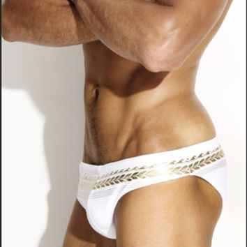 Charlie Grecian Foil Brief