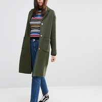 ASOS Coat in Boyfriend Fit at asos.com
