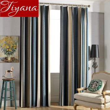 Fringe Curtains Chenille Bedroom Curtinas Window Modern Living Room Curtains Blackout Drapes Fabrics Cortinas Rideaux X292 #30