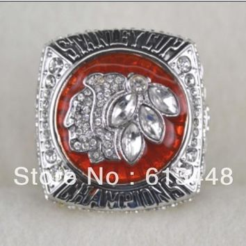 2013 Chicago Blackhawks Stanley Cup ring championship ring NHL ring size 11 FOR ADULT USE  Hockey FAN GIFT