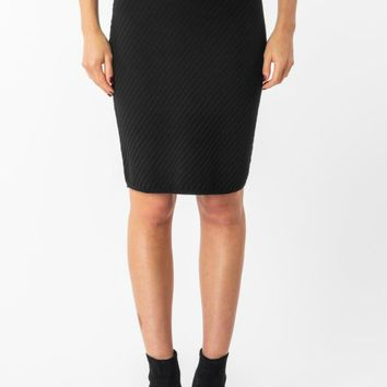 Jema Ribbed Knit Skirt