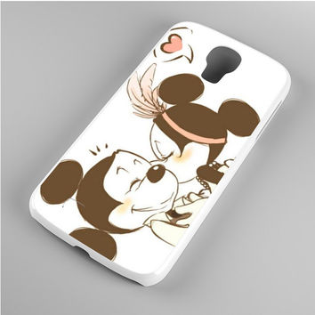 Mickey Mouse Vintage Kis Samsung Galaxy S4 Case