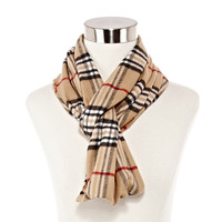 V. Fraas Plaid Infinity Scarf - JCPenney