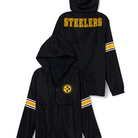 Pittsburgh Steelers Half-Zip Windbreaker