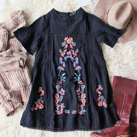 Poppy Lace Dress in Black