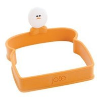 Joie Toast Shaped Silicone Egg Ring, Square
