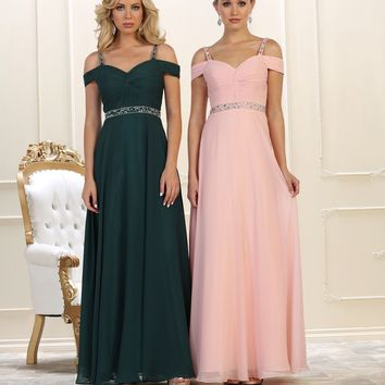 Long Prom Dress Evening Party Gown