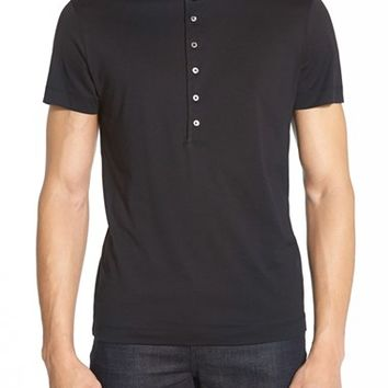 Men's Theory 'Autry' Short Sleeve Henley,