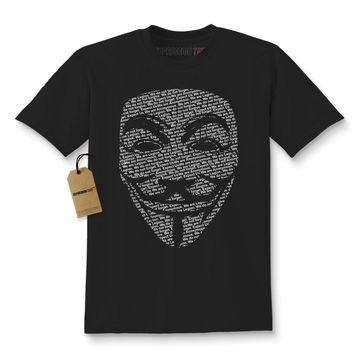 V for Vendetta / Guy Fawkes Mask Kids T-shirt