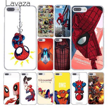 Lavaza Marvel Spider-Man Spider Man Comics Phone Cover Case for Apple iPhone X XR XS Max 6 6S 7 8 Plus 5 5S SE 5C 4S 10 Cases