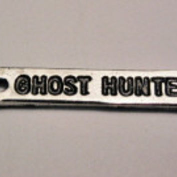 Ghost Hunter Genuine American Pewter Charm