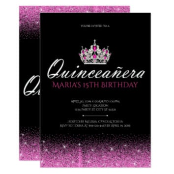 Sweet 16 & Quinceañera Invitations