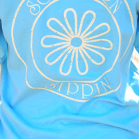 Southern Sippin' Flower: Tropical Blue   Hope's