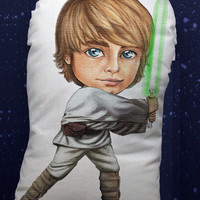 Star Wars Luke Skywalker pillow doll