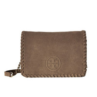 Tory Burch Marion Suede Combo Crossbody