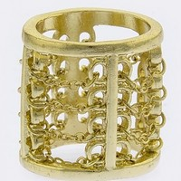 CHAIN LINK DESIGN RING