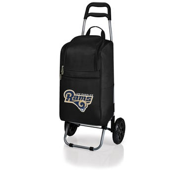 Los Angeles Rams - Cart Cooler with Trolley (Black)