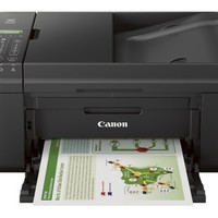 Canon - PIXMA MX492 Wireless All-In-One Printer - Black
