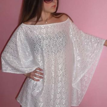 Mirage Tunic - On Sale - WhiteOne