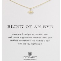 """Dogeared Blink of an Eye Necklace, 16"""""""