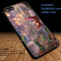 Disney Tangled Painting DOP137 iPhone 6s 6 6s+ 5c 5s Cases Samsung Galaxy s5 s6 Edge+ NOTE 5 4 3 #cartoon #animated #disney #tangled