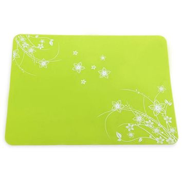 Practical Silicone Placemats Insulated Mat Potholder Table Decoration for Home Restaurant
