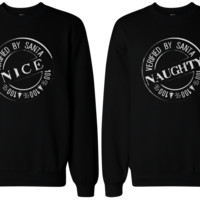 Nice Naughty Sweatshirts