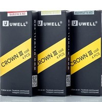 Uwell Crown 3 Coils 0.25/0.4/0.5ohm (4 Pc)
