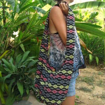 Colourful Navajo Pattern Surfer Shoulder Buddha Bag Hobo Sac Handbag Beach Bag | eBay