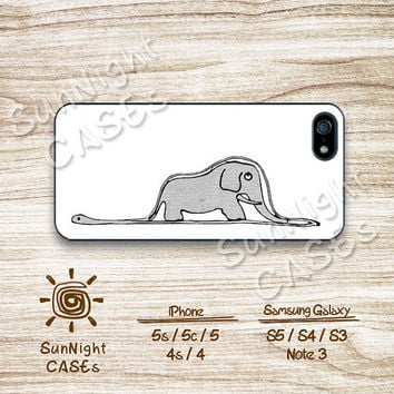 Little Prince, Elephant, iPhone 5 case, iPhone 5C Case, iPhone 5S case, Phone case, iPhone 4 Case, iPhone 4S Case, Phone Skin, a0406-902