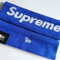 ca kuyou Supreme Headband head band New Streetwear Hypebeast Fleece