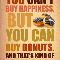 You can't buy happiness by Gayana on Etsy