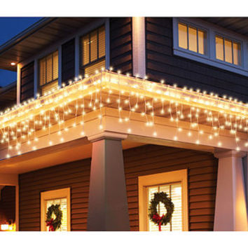 Walmart: Holiday Time 300-Count Blinking Icicle Christmas Lights, Clear