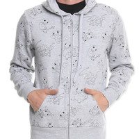 Pokemon Allover Hoodie | Hot Topic
