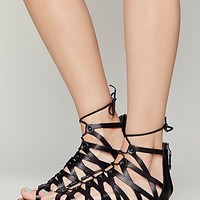 Dolce Vita Womens Santa Monica Lace Up Sandal