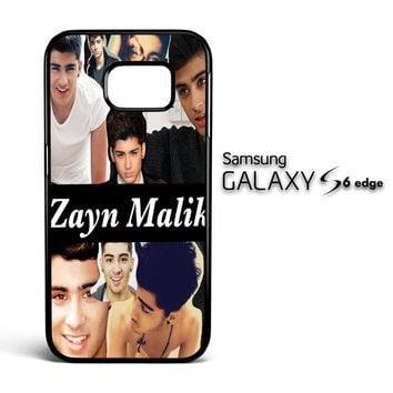 Zayn Malik Collage X0704 Samsung Galaxy S6 Edge Case