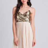 Evening Soiree Sequined Dress