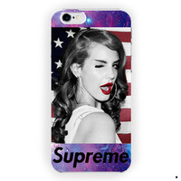Lana Del Rey American Flag Supreme For iPhone 6 / 6 Plus Case