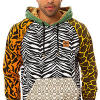 LRG Pullover Hoody The Savage Safari in Multi